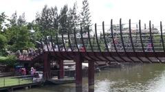 WAT BANG PENG TAI, MIN BURI, THAILAND - 21 Stock Footage