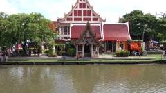 WAT BANG PENG TAI, MIN BURI, THAILAND - 20 Stock Footage