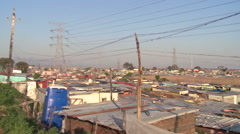 Khayelitsha township in south africa Stock Footage