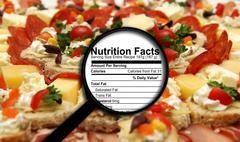 Nutrition facts Stock Illustration