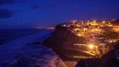 Azenhas do mar, portugal Stock Footage