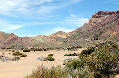 El teide national park at tenerife (spain) Stock Photos