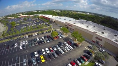 Aerial video Shopping Center - stock footage