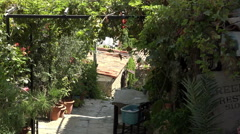Ephesus Turkey alley walk Sirince village 4K 055 Stock Footage