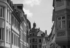 Mainz Old Town - stock photo
