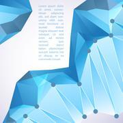 Cristal prism. vector illustration for your business presentation Piirros