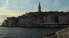 rovinj, croatia - stock footage