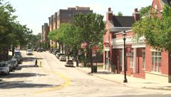 Active Streets in Harrison Stock Footage