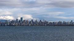 Modern City Skyline - Vancouver - 03 Stock Footage