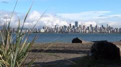 Modern City Skyline - Vancouver - 07 Stock Footage