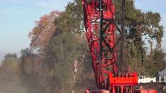 Heavy Equipment Construction, crane, Stock Footage