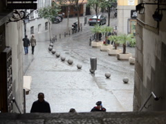 People of Madrid. Related clips are in my portfolio in HD. Stock Footage