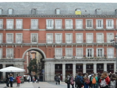 Plaza Mayor. Related clips are in my portfolio in 1920x1080. Stock Footage