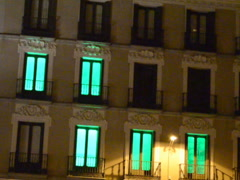 Hotels in Madrid. Related clips are in my portfolio in 1920x1080. Stock Footage