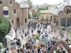 Park Guell. Related clips are in my portfolio in 1920x1080. Stock Footage
