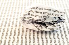 Conceptual background of stress Stock Photos
