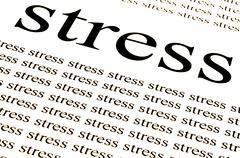 Conceptual background of stress.. Stock Photos