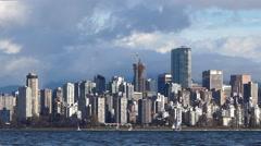Modern City Skyline - Vancouver - 19 Stock Footage