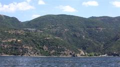 Xeropotamou monastery. Holy Mount Athos. Stock Footage