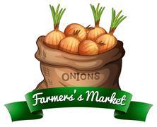 Farmers's market Piirros