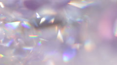 Diamond background - macro - stock footage