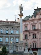 Stock Photo of sculpture in the center brno, czech republic