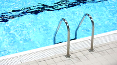 Swimming Pool 1 - stock footage