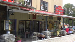 Stores at little switzerland, off blue ridge parkway, nc Stock Footage