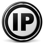 Ip address icon Stock Illustration