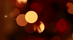 Blurred christmas light - stock footage