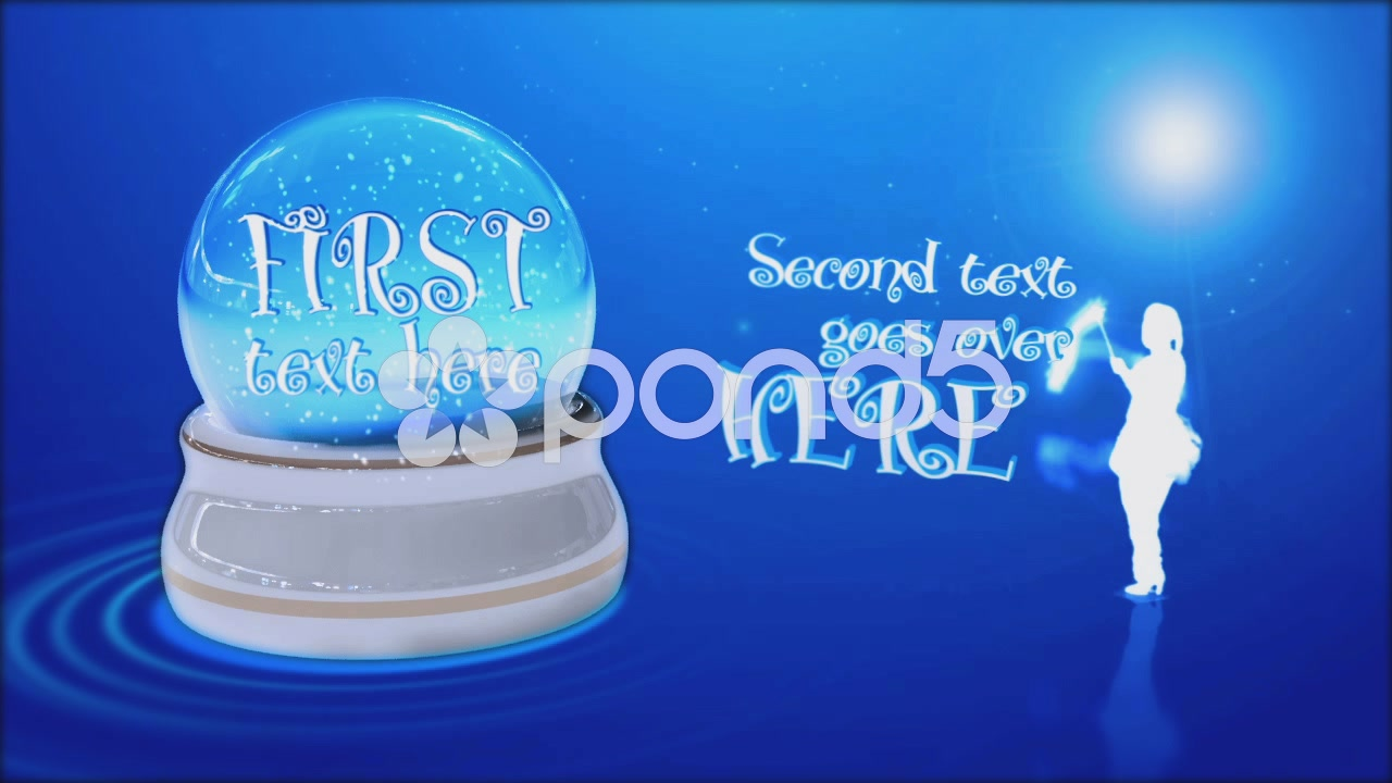 After Effects Project - Pond5 Happy new year in glass snowball 44354555