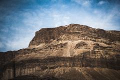 Mountain top  in the dead sea, israel Kuvituskuvat