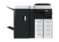 office printer - stock illustration