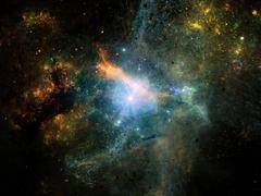 Stock Illustration of Visualization of Fractal Nebulae