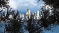 Modern City Skyline - Vancouver - 10 Stock Footage