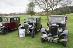 Old austin cars Stock Photos