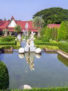 fountains. - stock photo