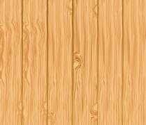pattern of wooden boards, vector illustration - stock illustration