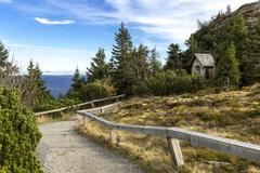 Germany, Bavaria, Bavarian Forest National Park, Great Arber, Chapel - stock photo