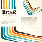 background retro, vintage, vector illustration - stock illustration
