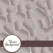 abstract background with circles, lines, vector illustration - stock illustration