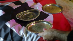 Stock Video Footage of nazi silver plates stolen