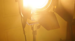 Studio theater light Stock Footage