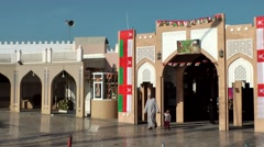 Arabia Orient Oman sultanate city of Muttrah (Matrah) 130 shopping arcades Stock Footage