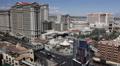 Establishing Shot Las Vegas Cityscape Aerial View Skyline Famous Landmark Hotels Footage