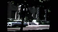 Cincinnati street (vintage 8mm home movies) - stock footage