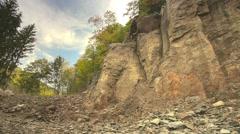 Stone mine Stock Footage