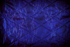 Blue quilted texture abstract Stock Photos
