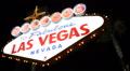 Establishing Shot Famous Las Vegas Welcome Neon Sign Landmark Lights Sightseeing Footage