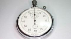 Pocket Stopwatch 4 Stock Footage